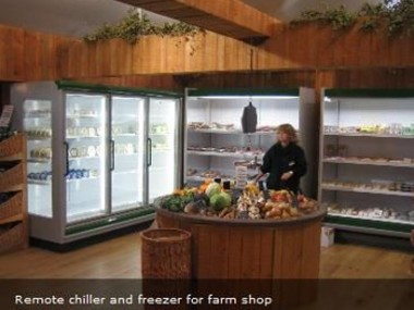 Glass Door storage refrigeration units