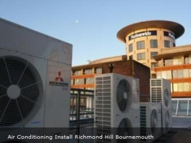 Air conditioning install on Richmond hill, Bournemouth