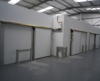Mutilple Refrigerated Rooms with heat recovery Wimborne